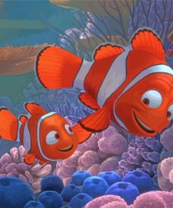 Nemo And Marlin Paint by numbers
