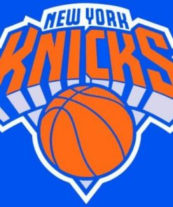 New York Knicks Logo Paint by numbers