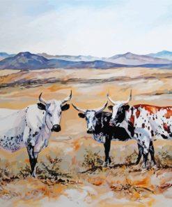 Nguni Herd Paint by numbers