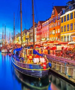 Nyhavn-canal-danemark-paint-by-numbers