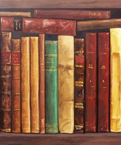 Old Books Paint by numbers