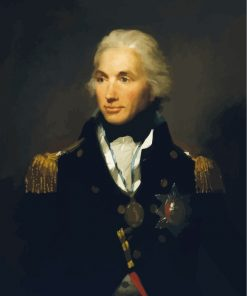 Old Horatio Nelson Paint by numbers