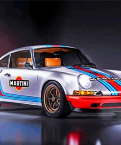 Porsche Car Racing Paint by numbers