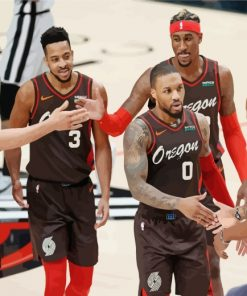 Portland-Trail-Blazers-paint-by-numbers