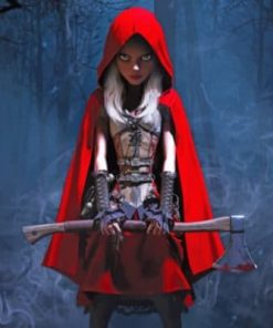 Red Riding Hood Paint by numbers