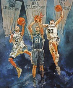 San-Antonio-Spurs-illustration-paint-by-numbers