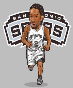 San-Antonio-Spurs-iullustrations-paint-by-numbers
