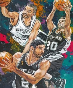 San-Antonio-Spurs-players-paint-by-numbers