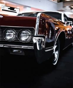 Classic Car Paint by numbers