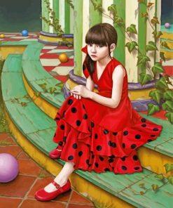 Shiori Maysumoto Paint by numbers