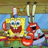 Spongebob-and-lobster-paint-by-number