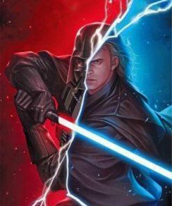 Star Wars Anakin Skywalker Paint by numbers