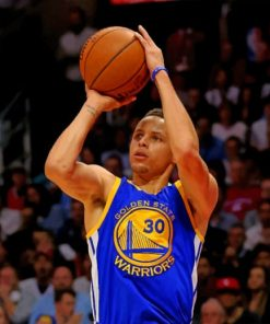 Stephen-Curry-paint-by-number