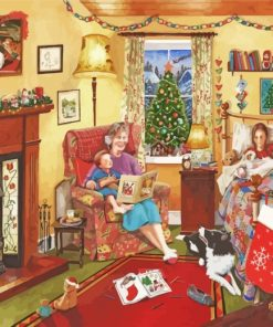 The Christmas Night Paint by numbers