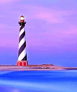 The cape hatteras light Paint by numbers
