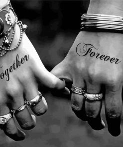 Together Forever Paint by numbers