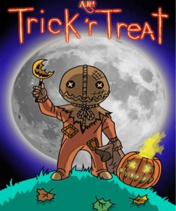 Trick R Treat Paint by numbers