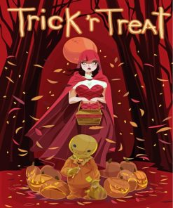 Trick R Treat Animation Paint by numbers