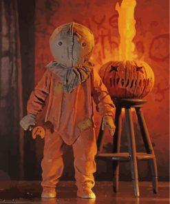 Trick r Treat Horror Movie Paint by numbers