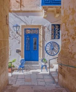 Valletta-Street-paint-by-numbers