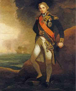 Vice Admiral Horatio Nelson Paint by numbers