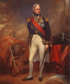 Viscount Nelson Paint by numbers