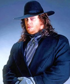 Wrestling-Star-Undertaker-paint-by-number