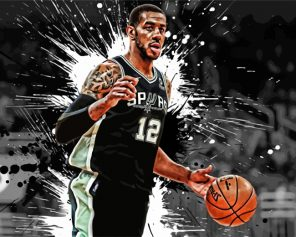 aesthetic-San-Antonio-Spurs-player-paint-by-numbers