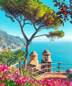 aesthetic-amalfi-coast-paint-by-numbers