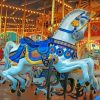 Aesthetic Carousel Horse Paint by numbers