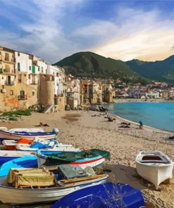 aesthetic-cefalu-europe-italy-paint-by-numbers