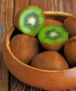 Aesthetic Kiwi Fruit Paint by numbers