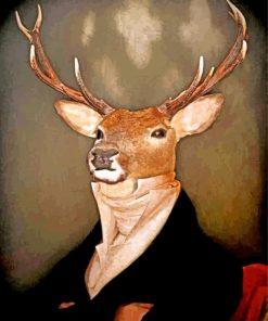 aesthetic-mr-deer-paint-by-numbers