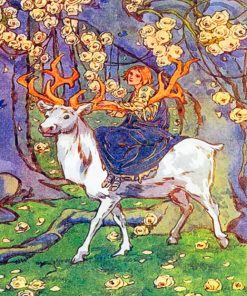 aesthetic-stag-paint-by-numbers
