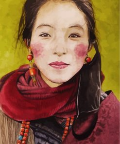 aesthetic-tibetan-lady-paint-by-numbers