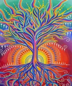 Aesthetic Tree Of Life Paint by numbers
