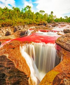 aesthetic-waterfall-in-colombia-paint-by-number