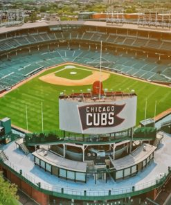 aesthetic-wrigley-field-chicago-paint-by-numbers