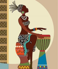 african-woman-paint-by-numbers