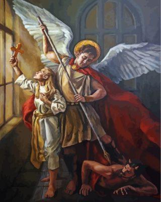 angel-by-Johannes-Vermeer-paint-by-numbers