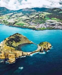 Azores Landscape Paint by numbers