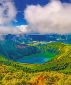 Azores Paradise Paint by numbers