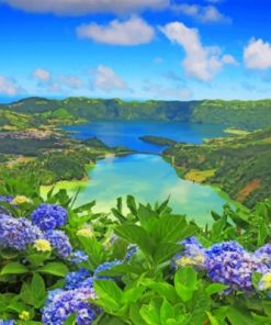 Azores Portugal Paint by numbers
