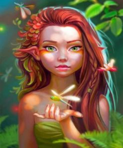 Beautiful Fairy Paint by numbers