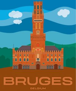belfry-of-bruges-paint-by-numbers