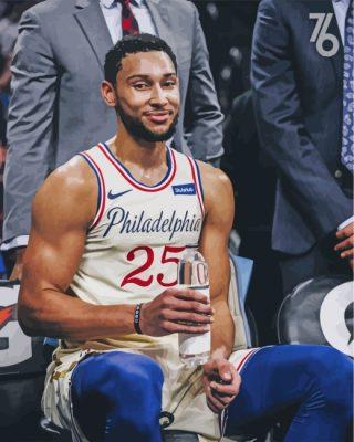 ben-simmon-Philadelphia-76ers-paint-by-numbers