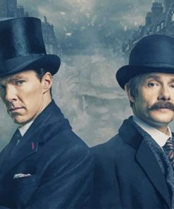 benedict-cumberbatch-and-martin-freeman-paint-by-number