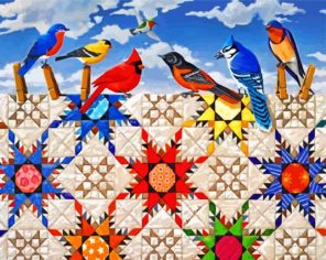 birds-and-quilt-on-clothesline-paint-by-number