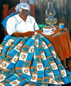 black-grandma-paint-by-numbers