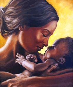 black-mother-and-child-paint-by-numbers